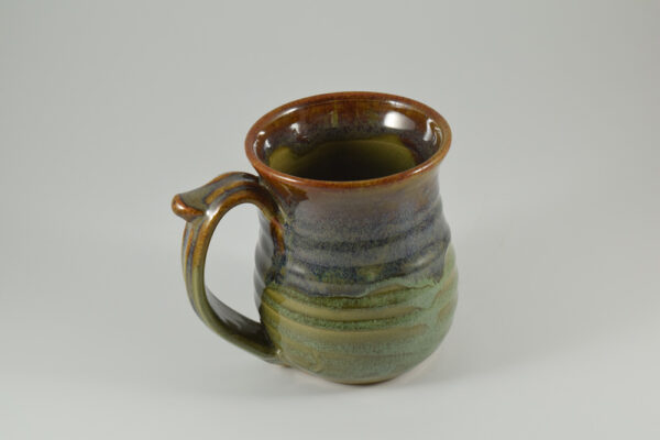 river rock green glaze option for fowlers clay works pottery studio in gatlinburg tn