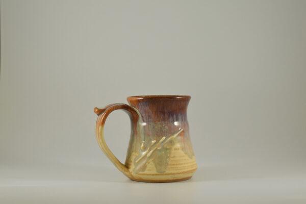 mug from gatlinburg pottery store